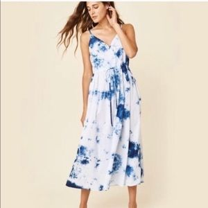 Christy dawn shibori print Lincoln dress